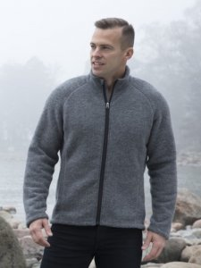 Ruskovilla Men's Organic Wool Fleece Jacket