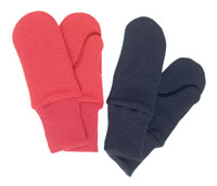 Merino Wool Double Layer Mittens